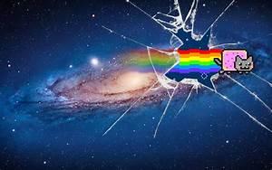"""""""Nyan Cat Galaxy"""" Wallpaper by Jayro-Jones on DeviantArt"""