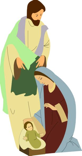 nativity clip art  clkercom vector clip art