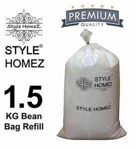 Buy, 1, 5, Kg, High, Quality, Polyurethane, Bean, Bag, Refill, Beans, By, Style, Homez, Online