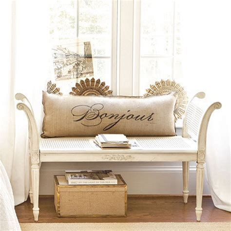 Antoinette Bench  Traditional  Indoor Benches By