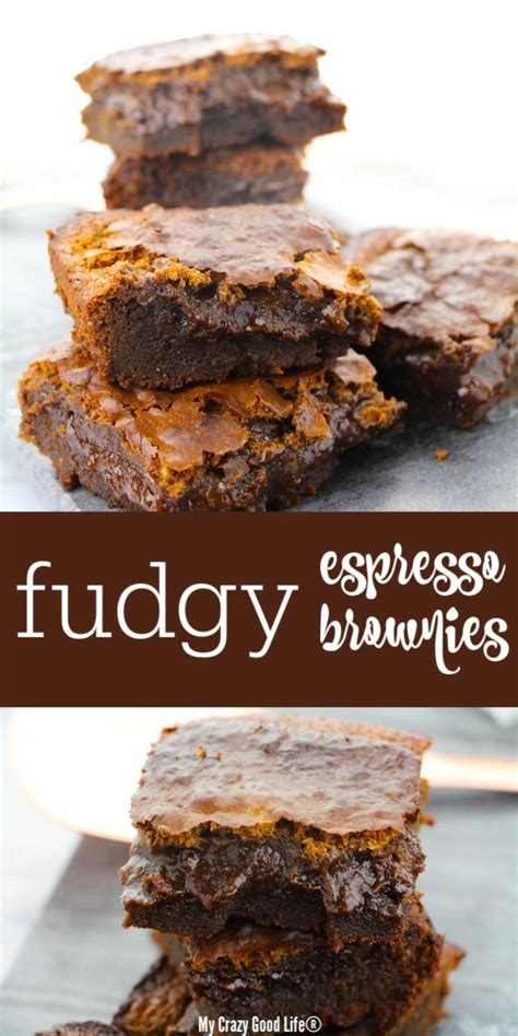Well you're in luck, because here they come. This Espresso Brownies recipe is a delicious, fudgy, chewy ...