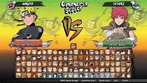 Les Personnages De Naruto Shippuden Ultimate Ninja Storm