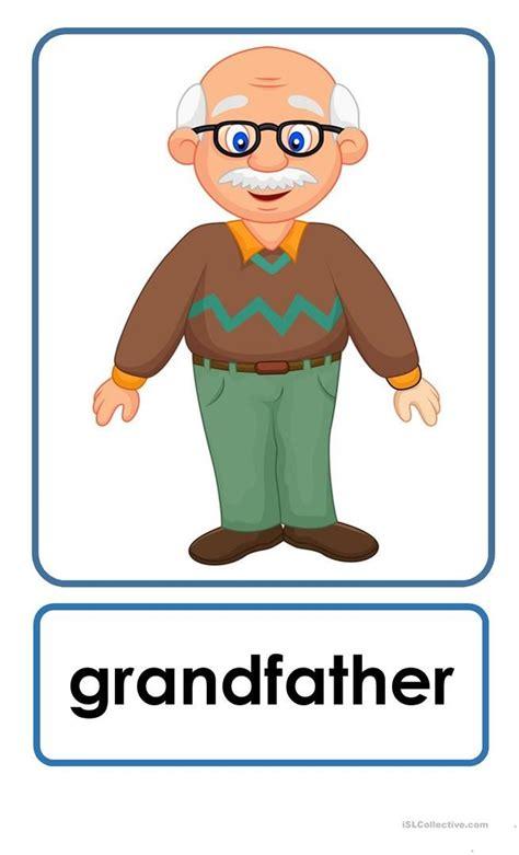 family flashcards flashcards  kids english lessons