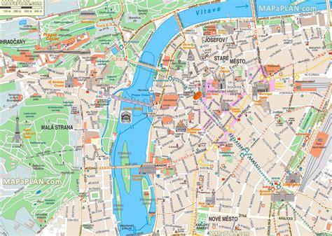 prague offline map offline map  prague bohemia czechia