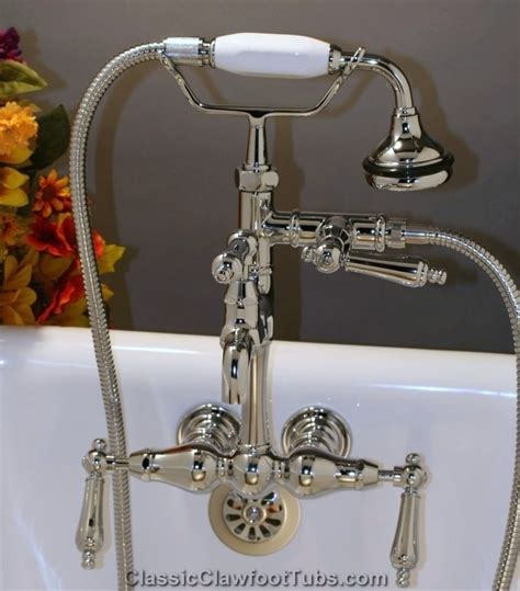 Leg Tub Faucet by Classic Leg Tub Faucet With Held Shower Classic