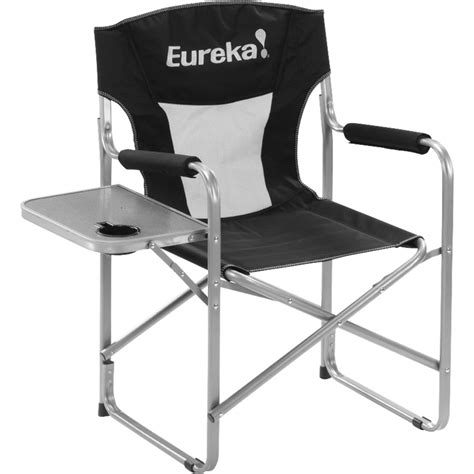 cing chair with side table eureka directors chair w side table backcountry com