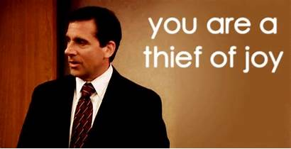 Gifs Office Greatest Thief Joy Michael Insults