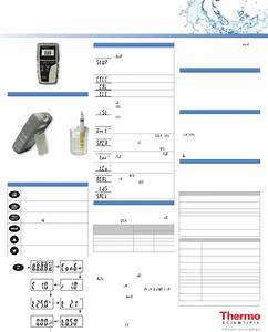 Thermo Scientific Eutech Cond 6  Measuring Instruments