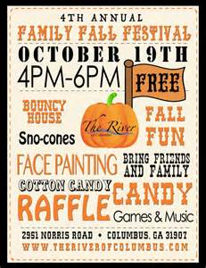 Church Fall Festival Flyer