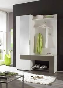Moderne Garderoben Set : back garderobe garderobenset weiss anthrazit interior in 2019 ~ Frokenaadalensverden.com Haus und Dekorationen
