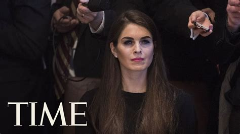 Hope Hicks White House Aide