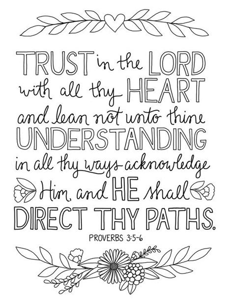 prov coloring page lesson activities bible verse