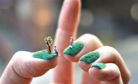 small world   amazing miniscule art works