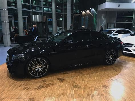 This version has 435 hp. Mercedes-Benz E53 Coupe All Black