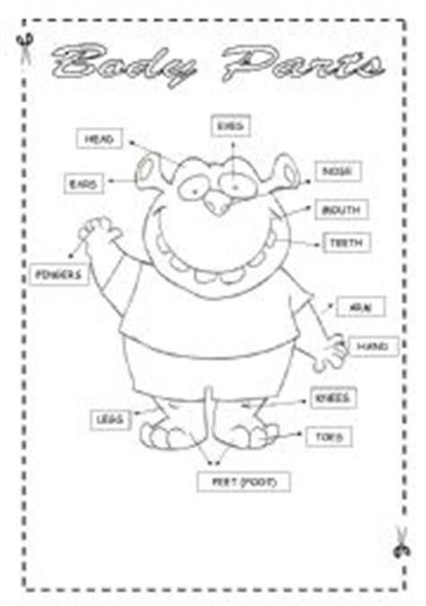english worksheets body parts