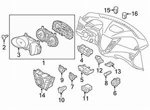 2013 Hyundai Veloster Control  Heater  Assembly  Dash Unit