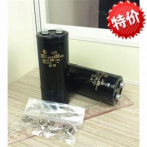 Aic Hitachi Aluminum Electrolytic Capacitor Gxa Type