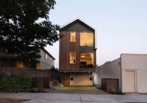 homes for narrow lots vertical house raises sustainable seattle living to heights modern house designs