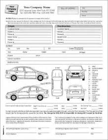 Transport Bill Sle by Auto Transport Bill Of Lading With 1 Car Item 7583