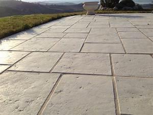 Dalle Pierre Terrasse : dalle terrasse pierre multiformat 4 cm blanc ~ Preciouscoupons.com Idées de Décoration
