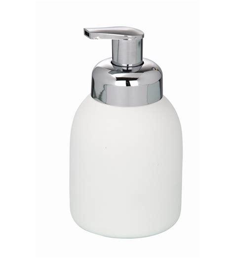 Buy Decorative Flowers Online by Wenko White Ceramic Foam Dispenser Bottle By Wenko Online
