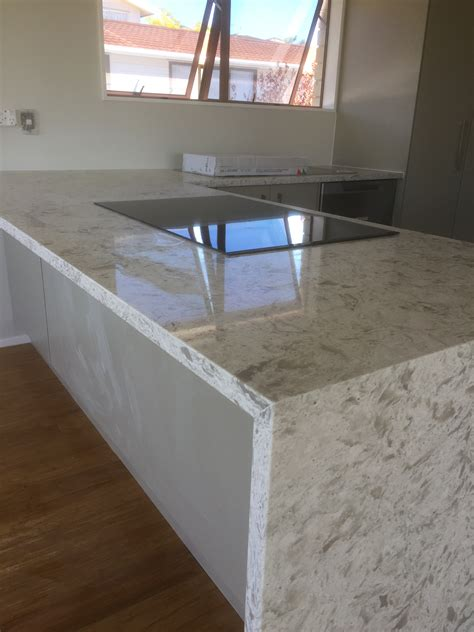 Kitchen Bench Repairs Auckland by With Waterfall End 2 Kitchen Bench Tops