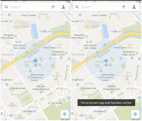 android offline maps cult of android save maps for offline use in the new
