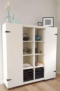 Ikea Kallax Hack : 35 diy ikea kallax shelves hacks you could try shelterness ~ Markanthonyermac.com Haus und Dekorationen