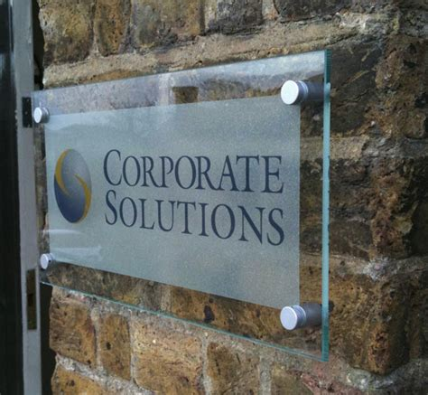 glass signs and glass plaques surrey shop signs