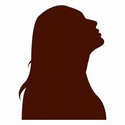Silhouette Woman Perfil Silueta Mujer Transparent Looking
