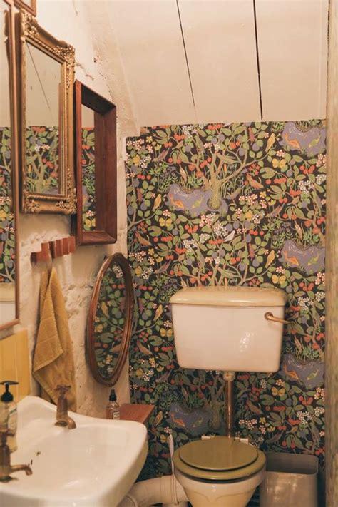 alluring bohemian bathroom designs    space