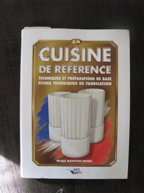 livre cuisine de reference cuisine de reference j en parlerai un jour