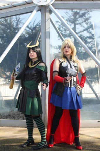 loki genderbend avengers cosplay amino