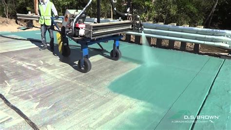 deckguard spray membrane ds brown youtube