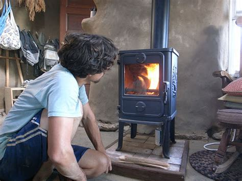 wood burning stoves  small houses