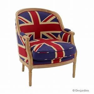 Fauteuil Style Anglais : fauteuil large anglais desjardins ~ Teatrodelosmanantiales.com Idées de Décoration