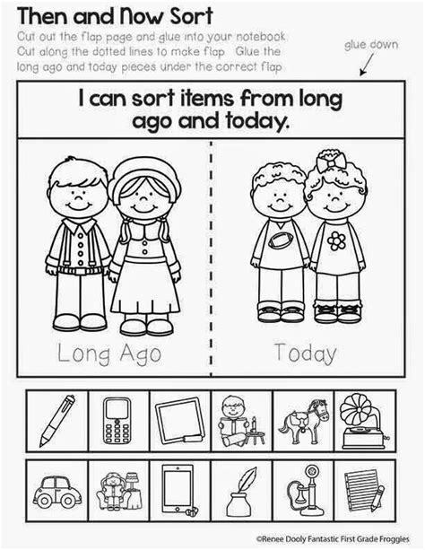15 best past and present kindergarten images on 821 | 3539a0e110887233c97fa06c330c7146 then and now social studies first grade then and now activities social studies