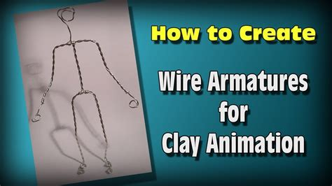 How To Make Wire Armatures For Stop Motion Youtube
