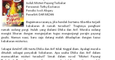 bahasa indonesia resensi buku