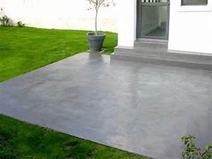 Peinture Terrasse Béton : peinture pour sol beton exterieur 10544 ~ Premium-room.com Idées de Décoration