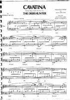 Stanley Myers - Cavatina - Free Downloadable Sheet Music