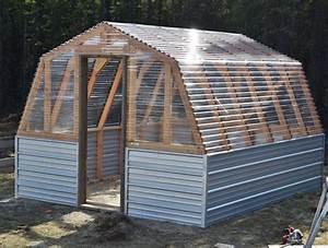 Cheap DIY Greenhouse Plans