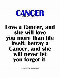 Best 25+ 22 jun... Cancer Star Sign Quotes