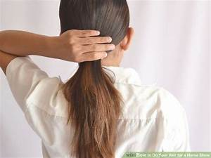How To Do Your Hair For A Horse Show 9 Steps With Pictures
