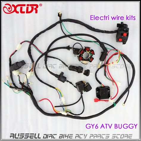 gy cc cc electrics stator wire wiring harness loom