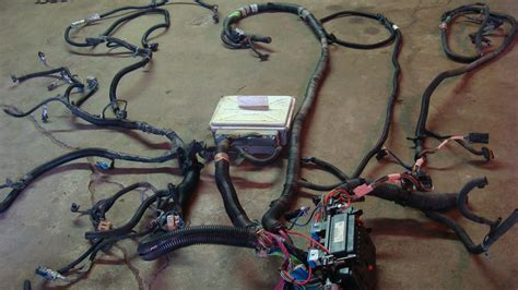 lm lq engine  trans wiring harness  ecm lstech