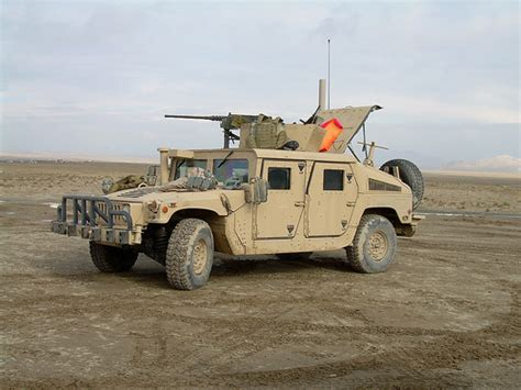 Usmc 4th Battalion M1152 Up-armored Humvee