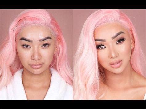 valentines day makeup transformation follow bbydollnessi dolor hic tibi proderit olim