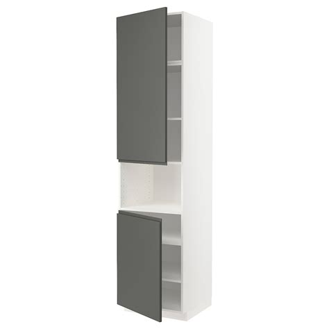 But there are 3 things you must know before you choose their voxtorp doors. METOD white, Voxtorp dark grey, High cab f micro w 2 doors ...