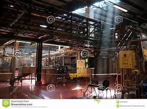 Inside factory stock photo. Image of crane, compactor ...